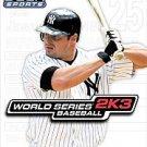 ***World Series Baseball 2K3  (Sony PlayStation 2, 2003)***LQQK