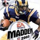 ***Madden NFL 2003  (Sony PlayStation 2, 2002)***LQQK