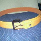 ***New Butter Ostrich BELT With Buckle***LQQK