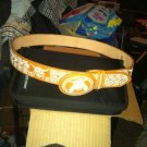 #5 Mexican Charro Saddle Belt With Buckle Piteado Size 40