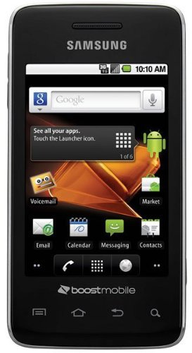 Samsung Galaxy Prevail M820 Android Smartphone Boost Mobile