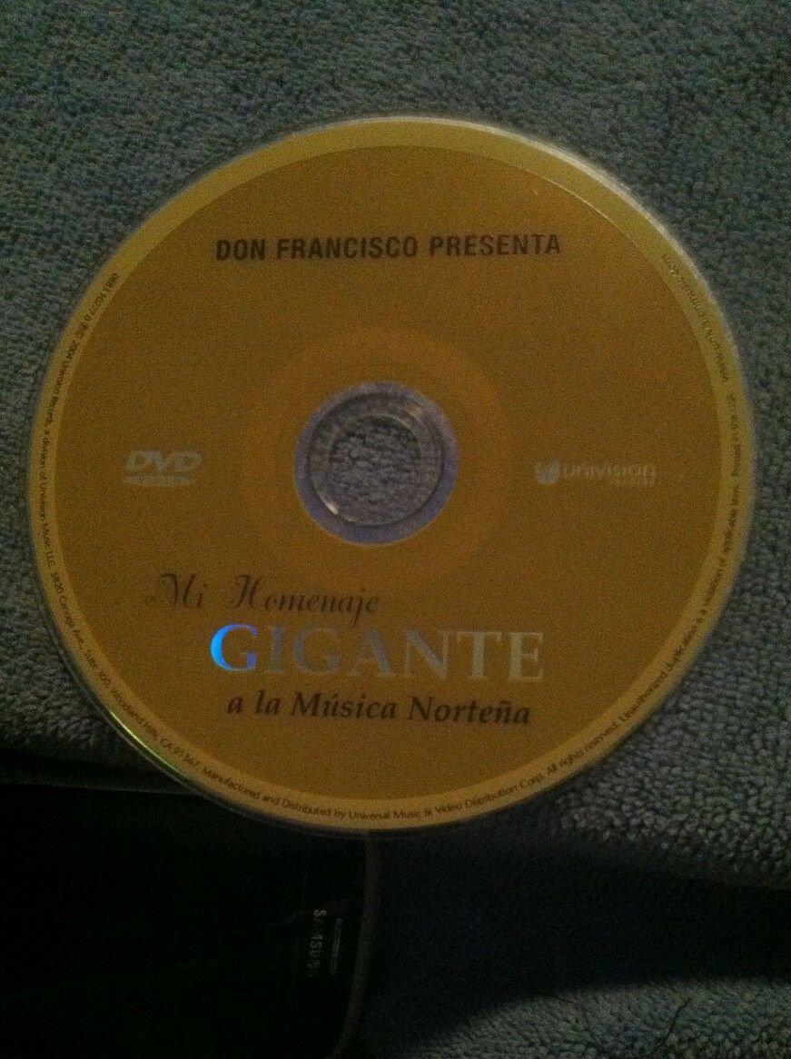 DON FRANCISCO PRESENTA MI HOMENAJE GIGANTE A LA MUSICA NORTENA