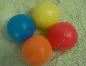 4pc Replacement Plastic Balls use for Fisher Price or Vtech toys