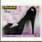 FASHIONISTA GIFT - NIB (new) Desktop Tape Dispenser - Black High Heel Shoe - Office Receptionist