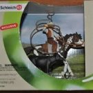 Schleich Gift Set #41340 Wild West Cowboy & Horse calf - Western Team Roping Exclusive