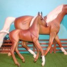 Breyer Classics Collection #62007 Palomino Morgan Mare and Foal 2008 Set