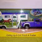 "Breyer Stablemates Pick-up Truck & Trailer ""Giddy Up & Go!"" #701736"
