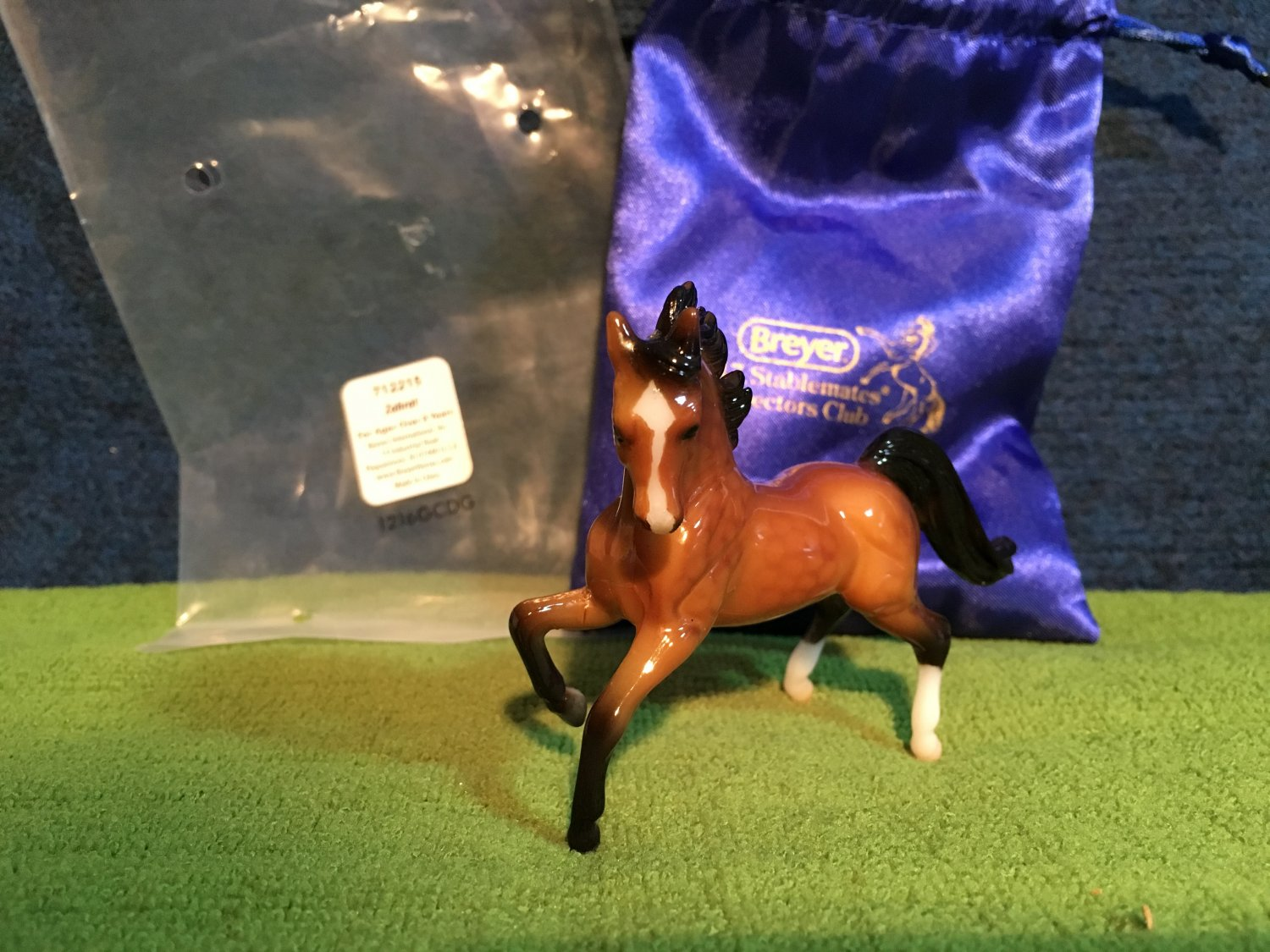 2017 Special Run Breyer Stablemates Club ZAHRAT Glossy Arabian Stallion