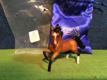 2017 Special Run Breyer Stablemates Club ZAHRAT Glossy Arabian Stallion