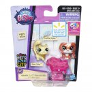 LPS Pets In The City #335 # 336 Hasbro Littlest Pet Shop Bunny Kitty