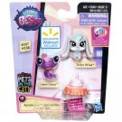 LPS Pets In The City Adorable Duos #337 # 338 Hasbro Littlest Pet Shop Frog Bunny