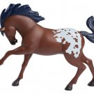 "2017 ""Junipero"" Appaloosa Classic Horse Figure from Spirit Riding Free Assortment"