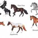 (PICK ONE) 2018 Breyer Horse Crazy Collection Stablemate #6900 8 Breeds/Styles