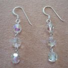 Sterling Swarovski crystal earrings