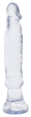 Doc Johnson Anal Starter 6-Inch, Clear Jellie