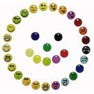 33pcs Emoticons Home Button Stickers Decals for iPhone 5/5G/4/4S/4G/3G