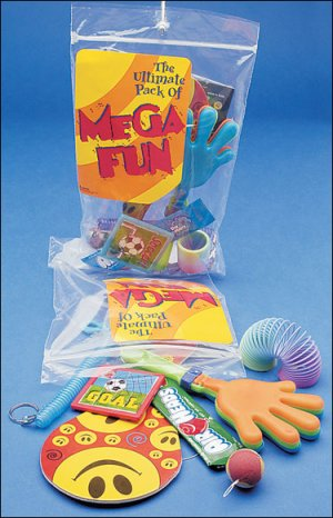 Candy & Fun Goody Bags Bakers Dozen