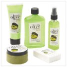 Avovado, Olive, and Lemon Bath Set