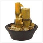 Bamboo Fountain with Rocks