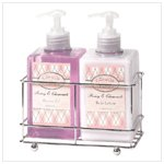 Peony and Chamomile Lotion Set
