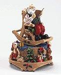 Rocking Chair Santa Musical