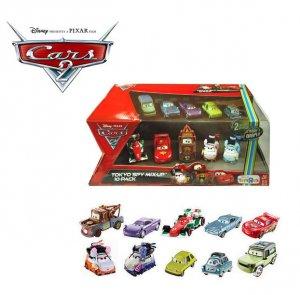 Disney Pixar 10 Car collector set TRUS Exlusive in BOx