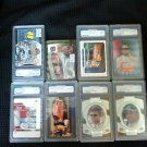 8 Nice Nascar All graded Cards one Low price.