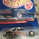 2 Hot wheels one error one regular you get both