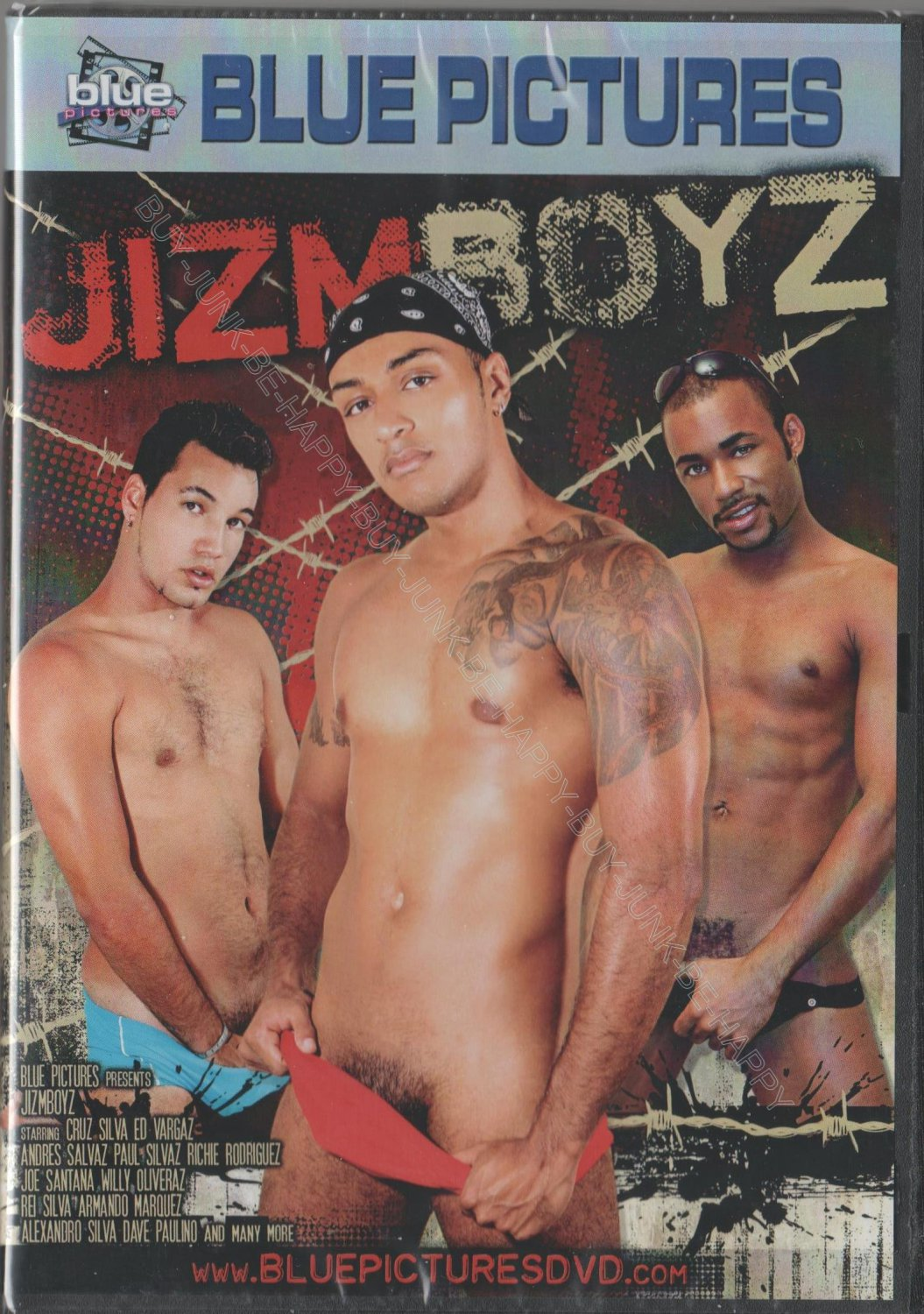 JIZM BOYS {Adult New} BLUE PICTURES GAY PLAY ROUGH BOYS, GET A LITTLE DL ACTION