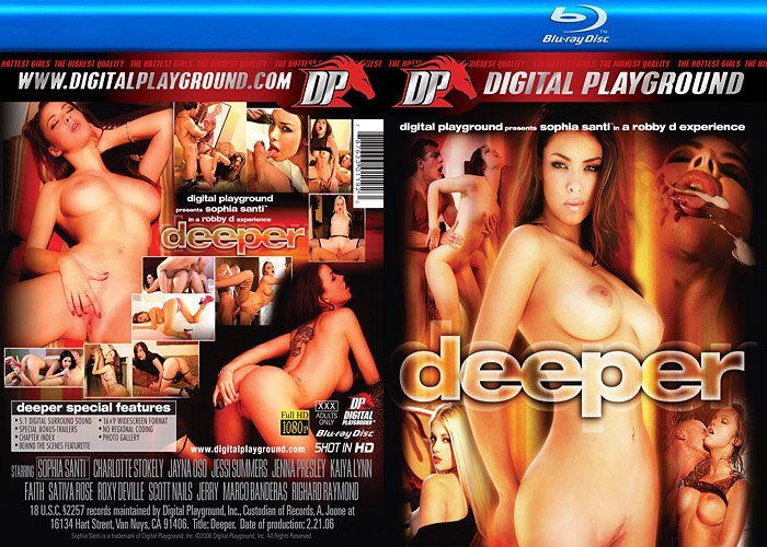 Deeper (BLU-RAY) Digital Playground DP SOPHIA SANTI JAYNA OSO SATIVA ROSE NEW