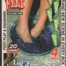 FOR THE LOVE OF FEET VOLUME 1 (Adult VHS XXX) NYMPH PICTURES 4 HOURS BUNNY LUV