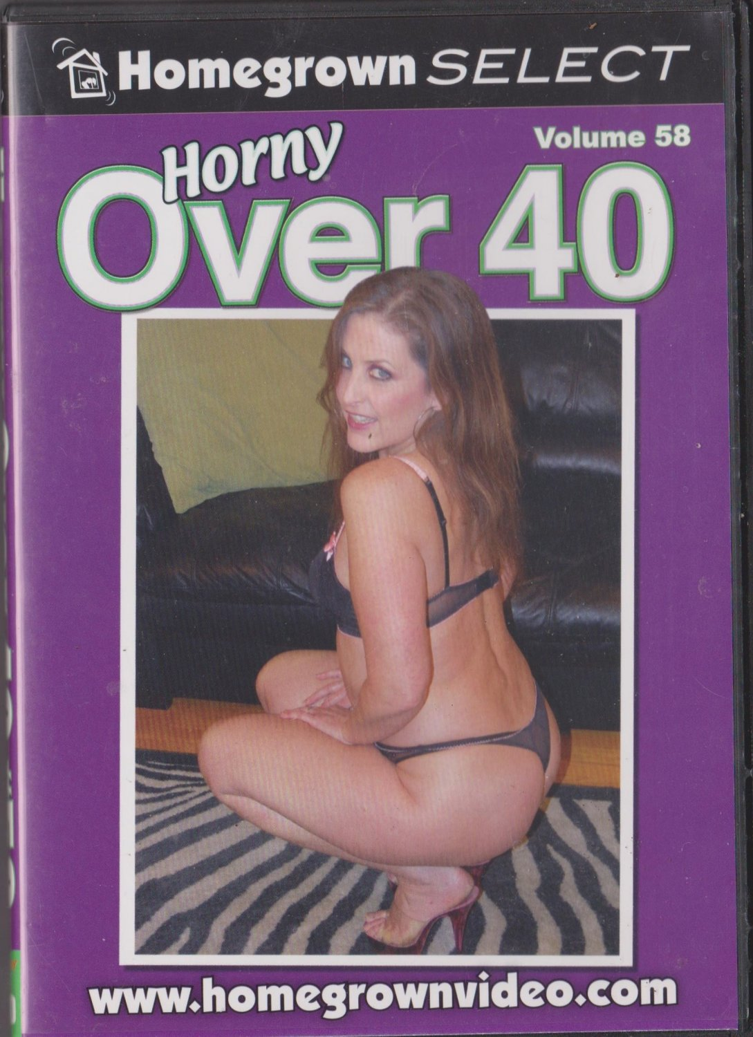 horny over 40 vol 58 (adult dvd - xxx) homegrown select 4 scenes
