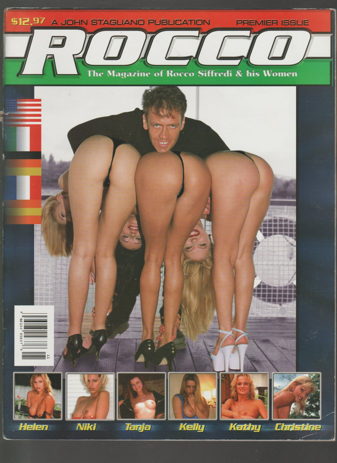 ROCCO SIFFREDI & HIS WOMEN PREMIER ISSUE {Adult} JOHN STAGLIANO NOVEMBER 1999