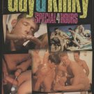 GAY & KINKY SPECIAL {Adult VHS} RAWHIDE THREESOMES 4 MASSIVE ORGIES AND MORE
