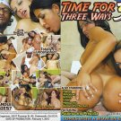 TIME FOR THREE WAYS 3 (DVD) WOW PICTURES MELISSA RIO ALESSANDRA EMILY MILENA NEW