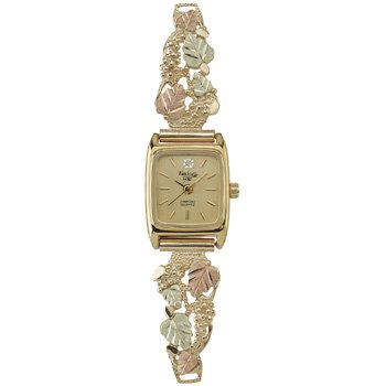 Black Hills Gold Watch Ladies & Diamond Gorgeous