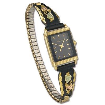 Black Hills Gold Pulsar Ladies Wrist Watch