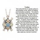Black Hills Gold Necklace Turquoise Sterling Silver Turtle