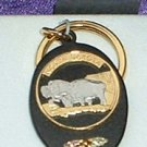 Black Hills Gold North Dakota State Quarter Key Ring