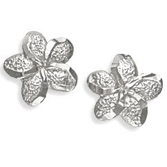 .925 Silver Flower Earrings Landstroms Black Hills Gold