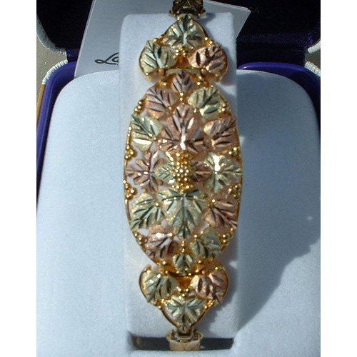 Black Hills Gold Bracelet On Expansion Band