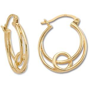 Looping Hoops Earrings Landstrom's Black Hills Gold
