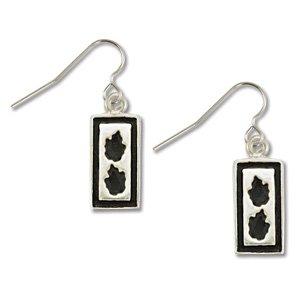 2 Leaf Silver Earrings Landstrom's Black Hills Gold