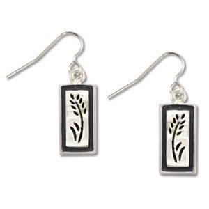 Wheat Silver Earrings Landstrom's Black Hills Gold