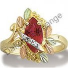 Black Hills Gold Marquise Birthstone Diamonds Ring All Months Available