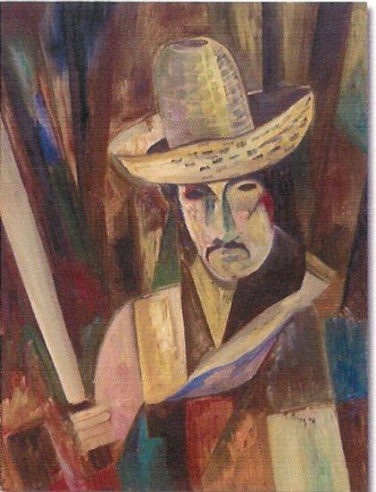 """Limited Edition giclee Rolando Diaz's """"El Machetero"""""""