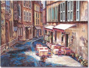"""Limited Edition giclee Ginger Cook's """"Afternoon in Albi"""""""