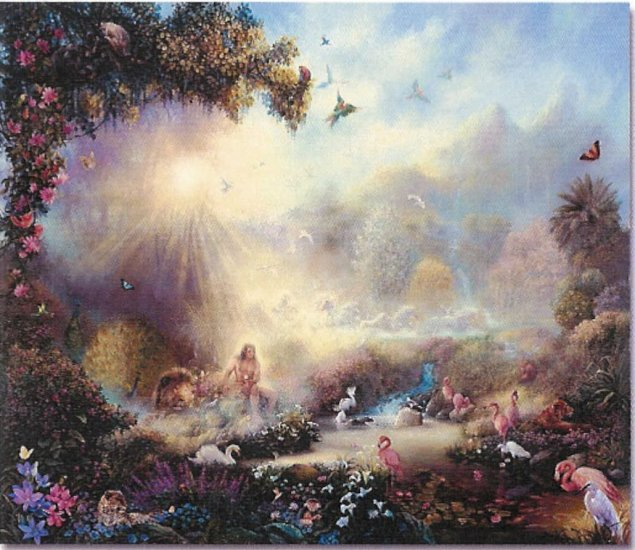 """Limited Edition giclee Tom duBois' """"In the Garden"""""""