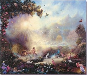 "Limited Edition giclee Tom duBois' ""In the Garden"""