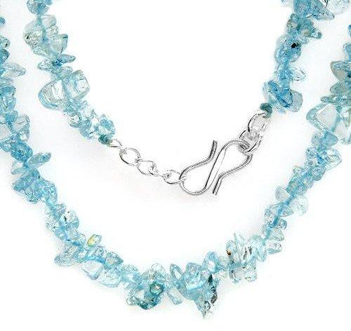 Genuine Topazes Necklace